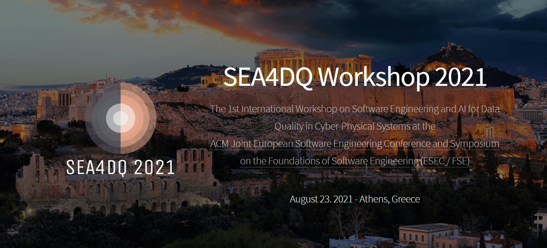 SEA4DQ workshop